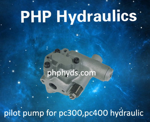 Gear Pump, Pilot Pump, Charge Pump for Komatsu PC360-5 Excavator Hydraulic Pump Hpv160