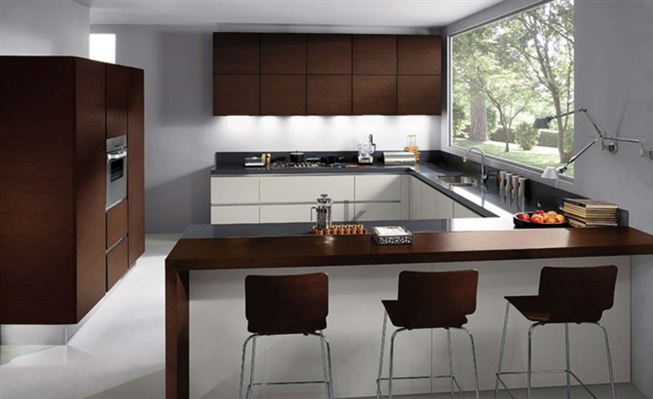 China laminate kitchen cabinets ethica china kitchen for Kitchen cabinets laminate