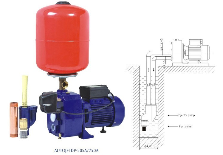 Autojetdp-255A/370A Series Automatic Self-Priming Deep Well Pump