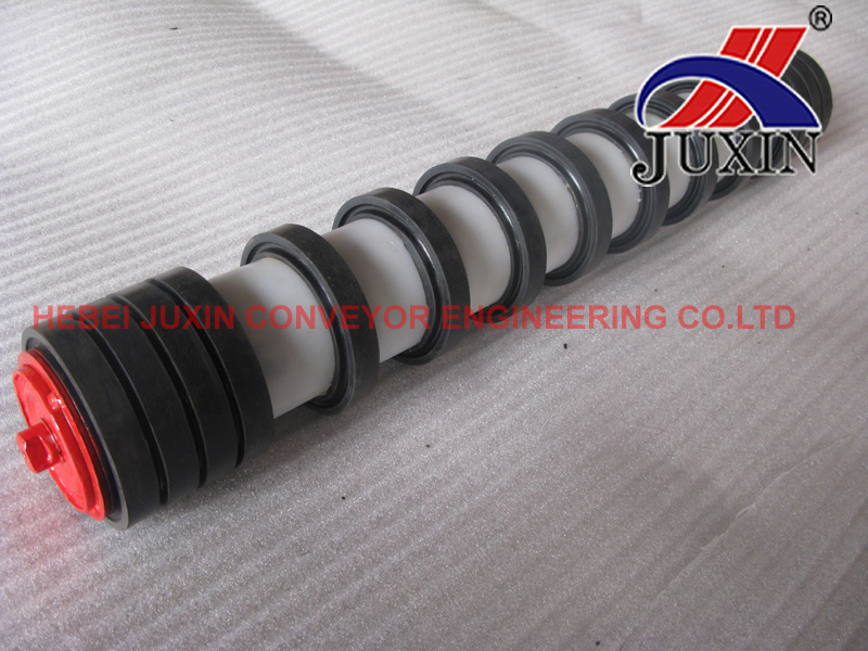Conveyor Roller/Impact Roller/Return Roller with Rubber Disc
