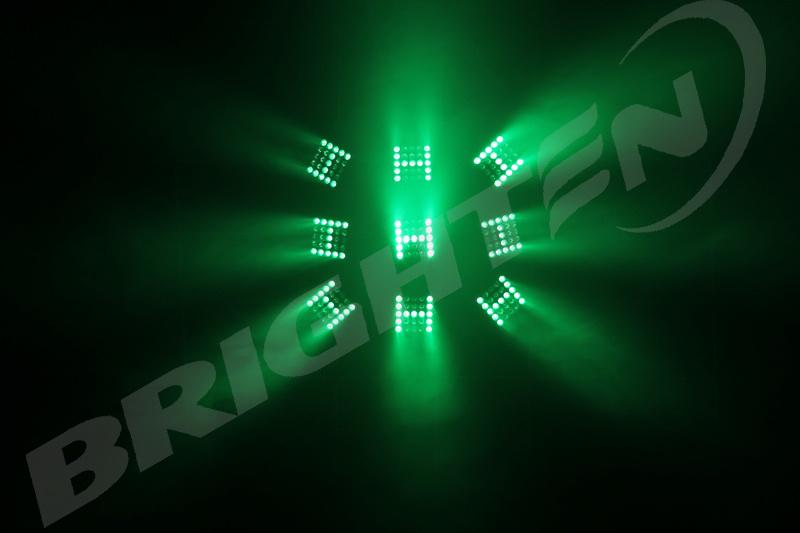 5*5 10W Matrix RGBW LED Moving Head Light Wash