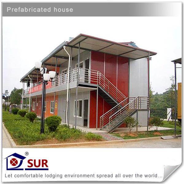Dos pisos de prefab house dos pisos de prefab house - La casa prefabricada ...