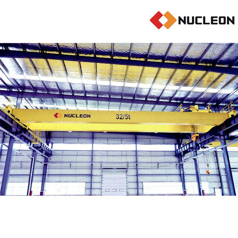 Medium Duty Nlh Series Double Girder Bridge Crane 10 Ton
