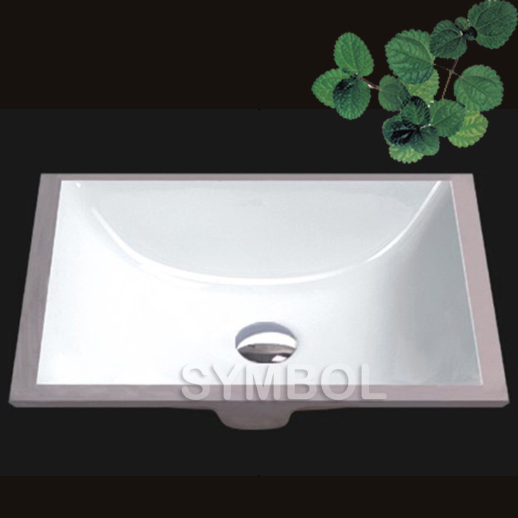 Porcelain Undermount Bathroom Sink (SS-U1611) - China Bathroom Sink ...