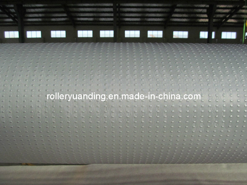 Embossing Roller with Chrome Plating for Figured Glass
