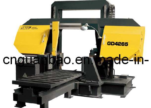 Double Column Band Sawing Machine for Metal Cutting Gd4260