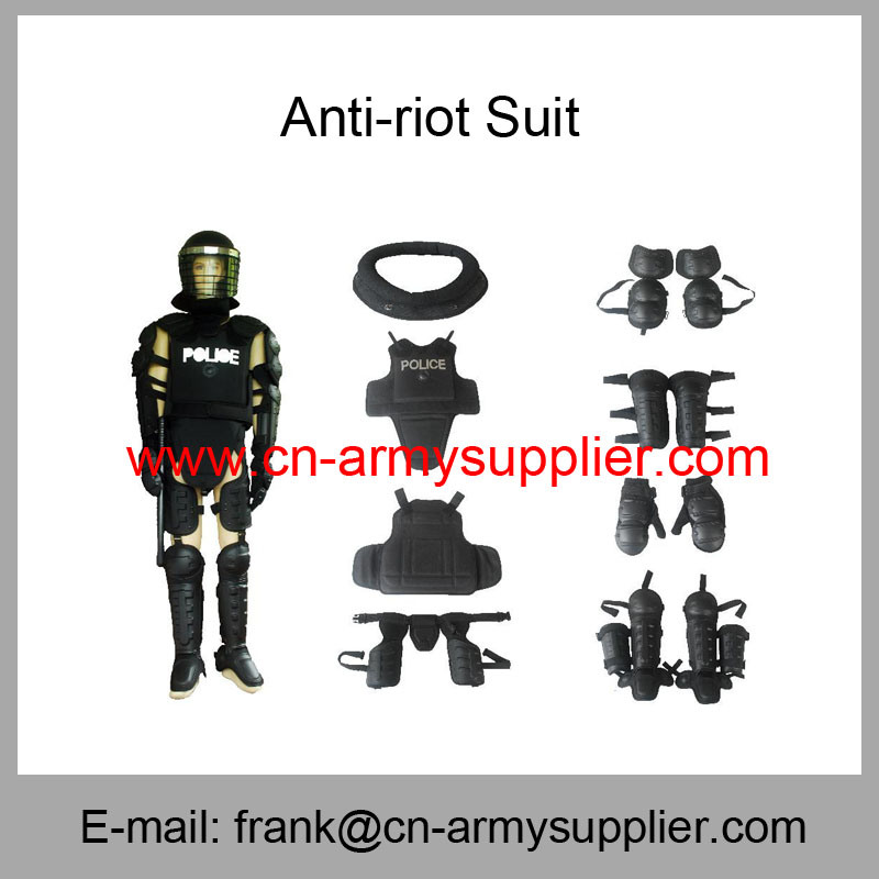 Security Protection-Police Equipment-Helmet-Shield-Anti Riot Suit