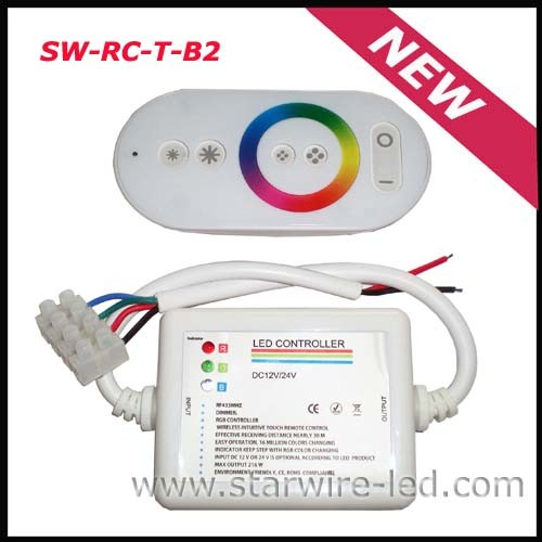 Rainbow RGB Remote LED Controller/Dimmer (SW-RC-T-B1)