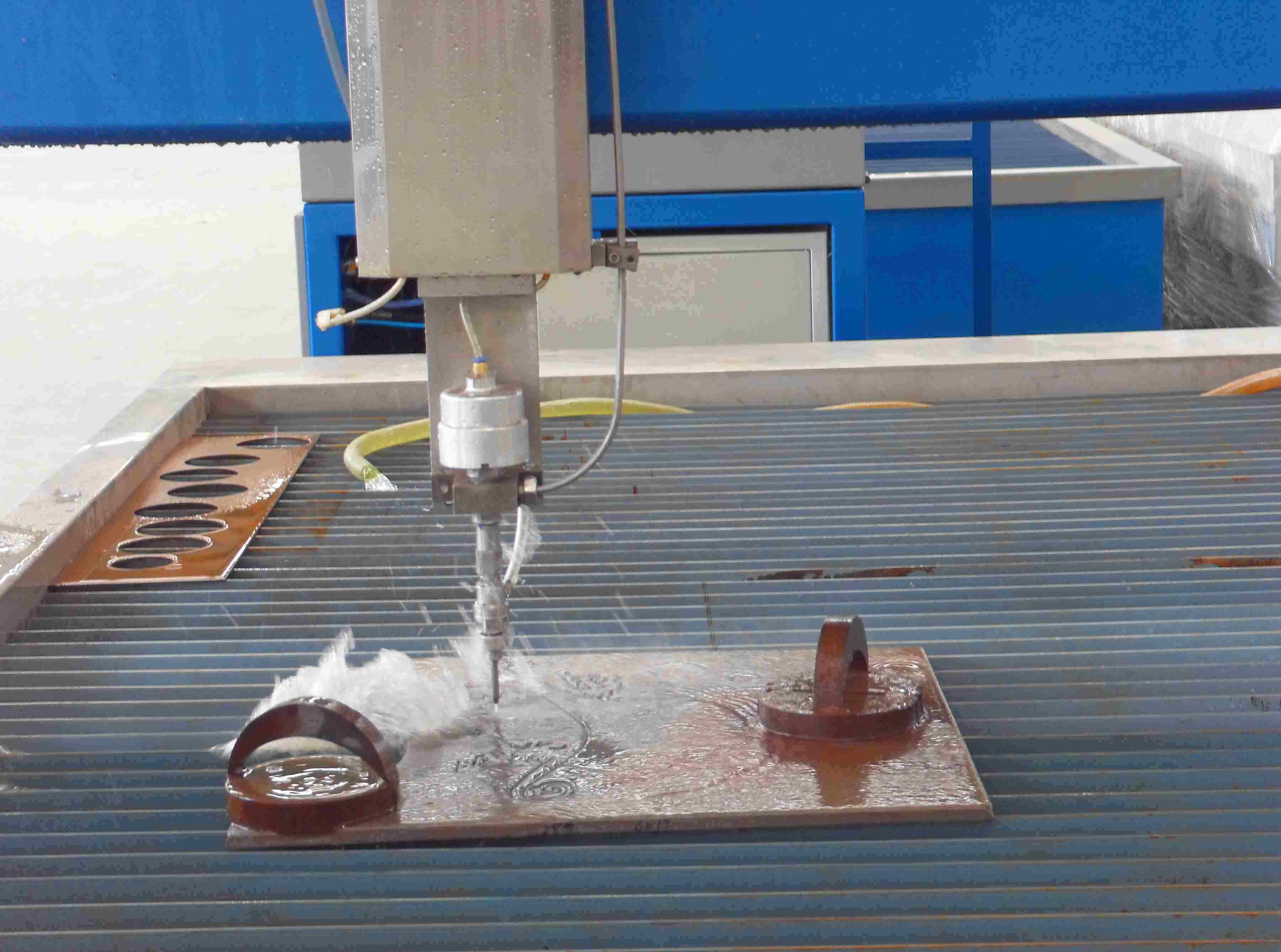 3m*2m CNC Waterjet Machine, UHP Cutting Machine