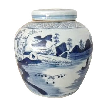 Chinese Porcelain Jar with Lid (LW-29)