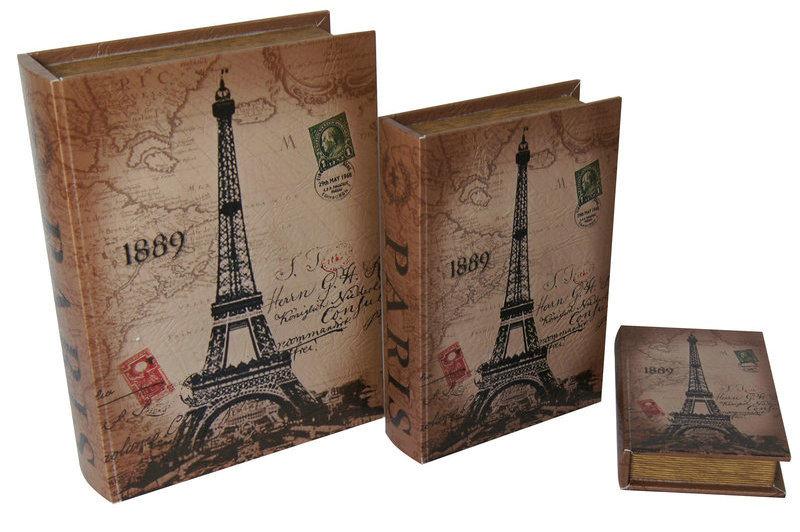 Decorative Boxes Shaped Like Books : Book box gf b china storage