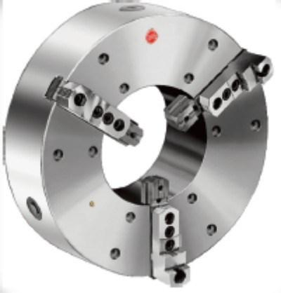 Large Diameter 3-Jaw Self-Centering Chucks, Steel Body