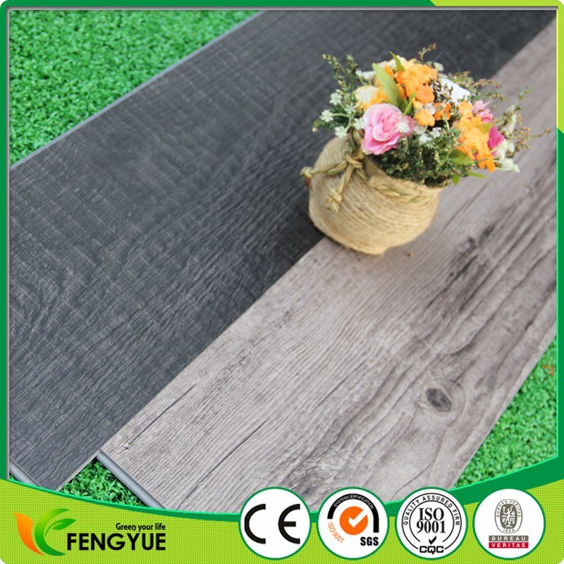 Durable Click Lock PVC Tiles Vinyl Flooring