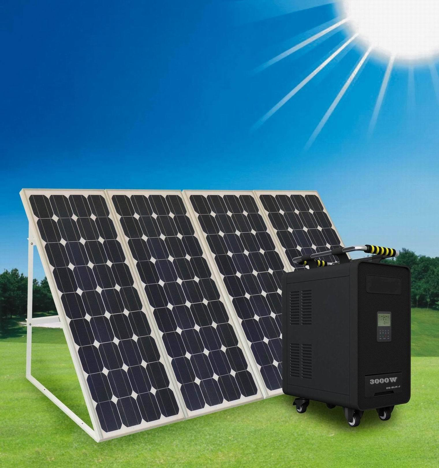 off Grid Home Use Solar Power System 1-5kw