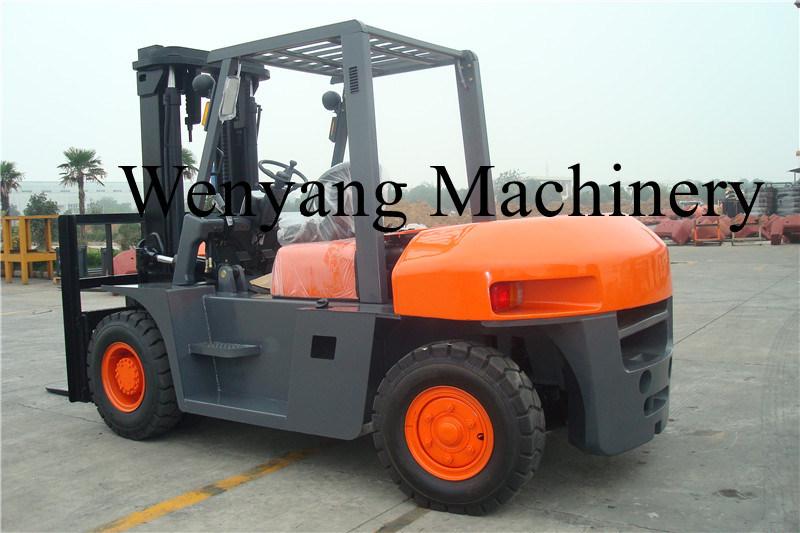 8ton Isuzu Engine Ce Certificate Hydraulic Powered Diesel Forklift Truck