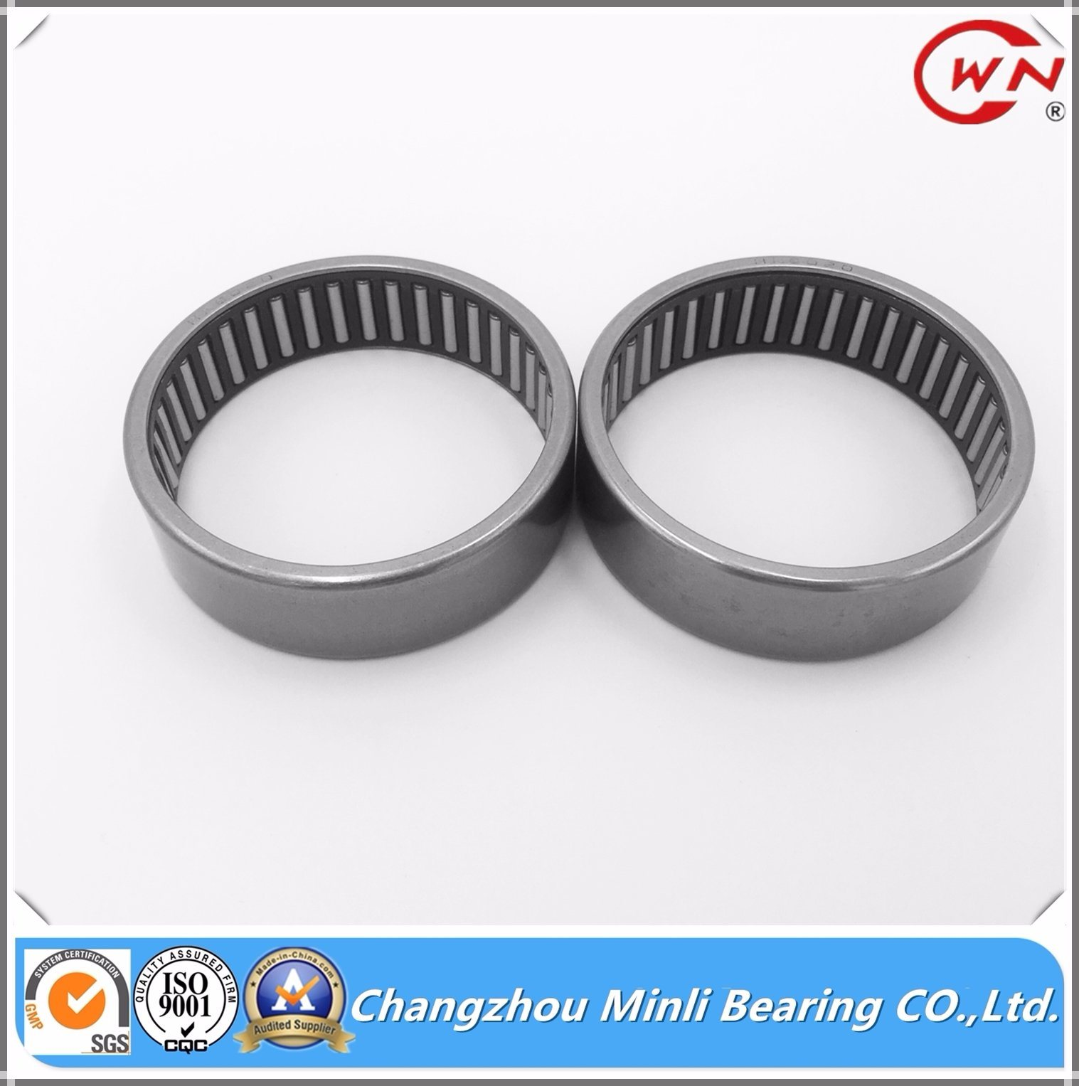Open-End Drawn Cup Needle Roller Bearing with Retainer HK