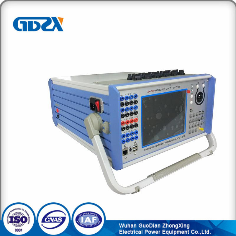 Comprehensive Relay Test Unit / Single Phase Protection Relay Tester Merging Unit Tester