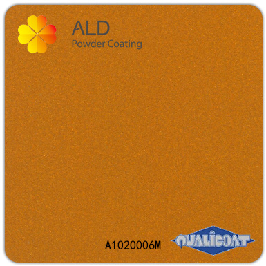 A1020006m Exterior Electrostatic Epoxy Polyester Superdurable Spray Meatllic Powder Coating