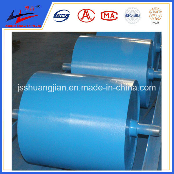 Diamond Conveyor Drive Pulley with Rubber and PU Lagging Coat