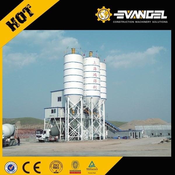 Mobile Concrete Mixing Batch Plant Hzs180