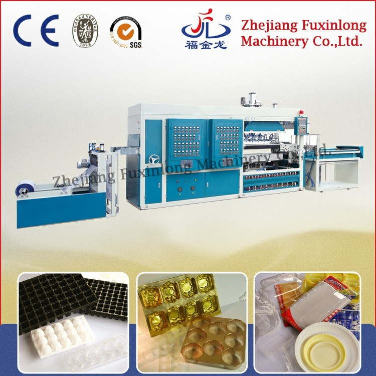 Fjl-700/1200zk Hi-Speed Automatic Vacuum Forming Machine