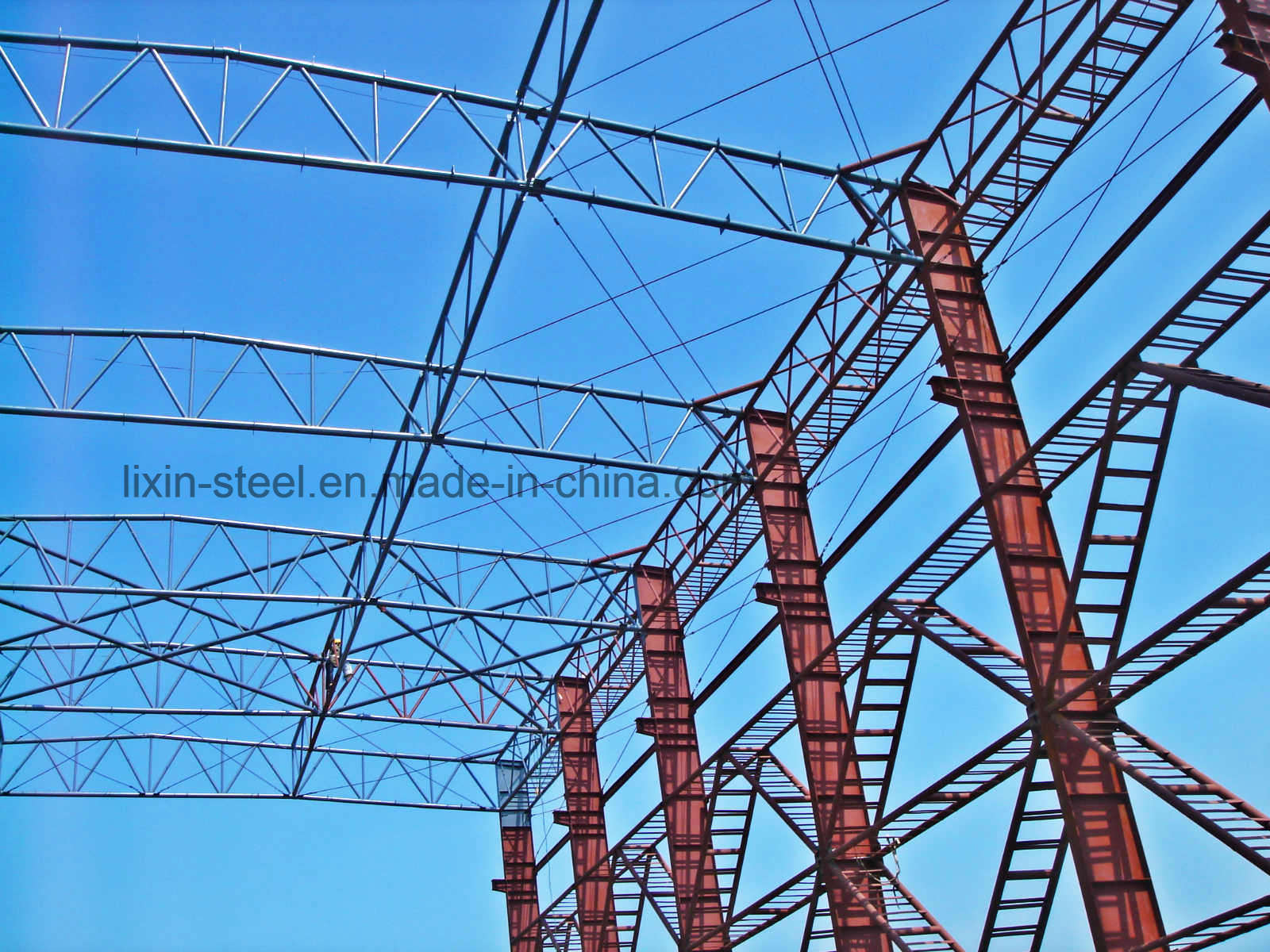 Movable Steel Structure Workshop Construction