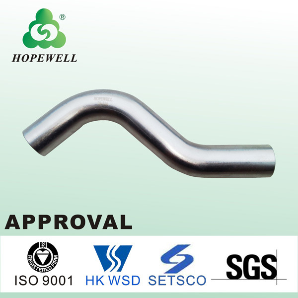 Top Quality Gunagzhou China Inox Plumbing Sanitary Stainless Steel 304 316 Pipe Bridge