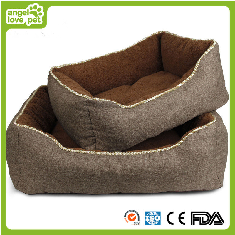 Linen Soft Plush Slap-up Pet Bed (HN-pH564)