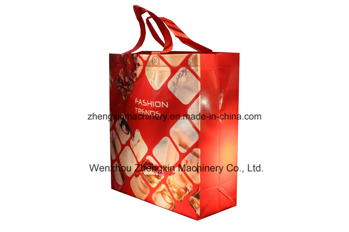 New Design Non Woven Laminated Gift Bag Machinery (ZX-LT400)