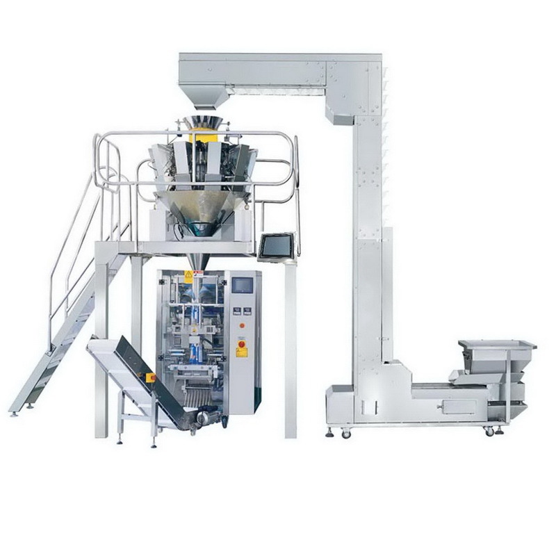 Pellet Snacks Automatic Weighing Packing System Jy-420A
