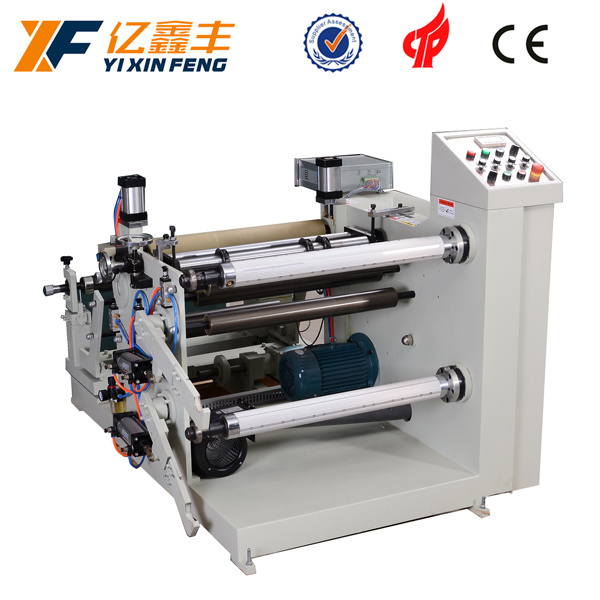 Automatic Thermal Paper Plastic Film Rewinding and Slitting Machine