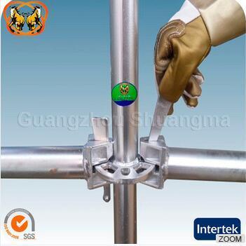 En12810 Standard and SGS Certified Steel Ringlock Scaffolding