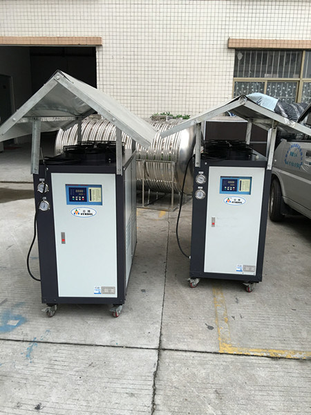Plastic Industrial Chiller Water Cooled Cooling Machine