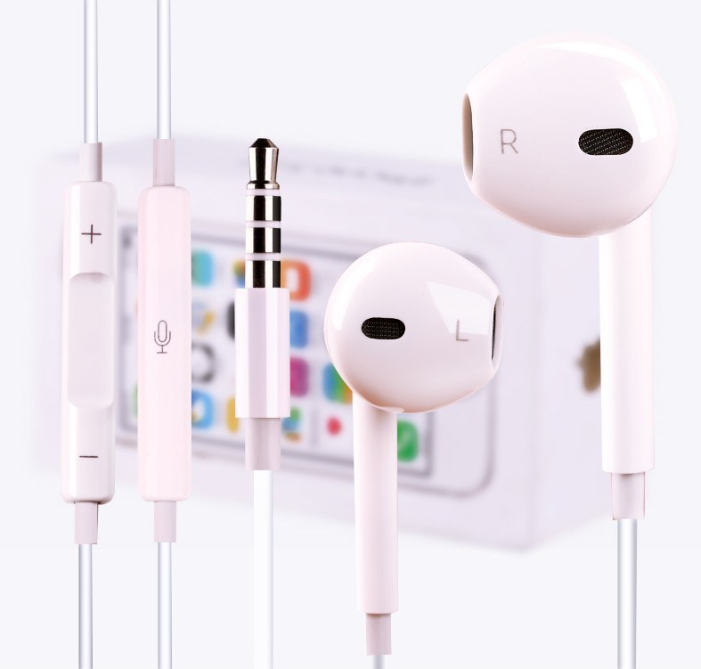 Colorful Mic Volume Remote Earphone for Apple iPhone
