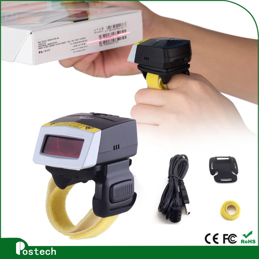 Wearable Wireless Laser Barcode Scanner Fs01