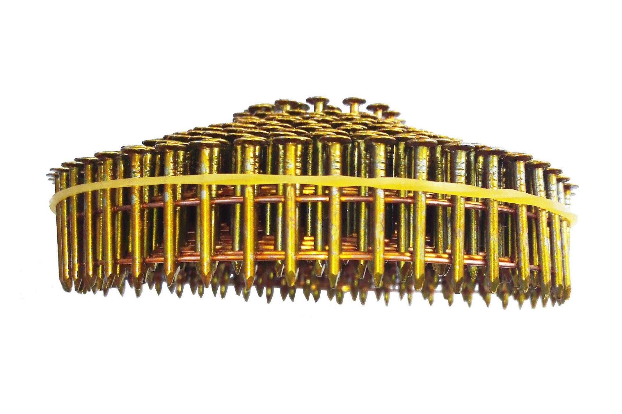 Harden, Galvanized 2.7 X 35mm Screw Shank Coil Nail