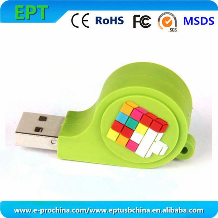 Whistle Design Flash Memory USB Flash Disk (ET081)