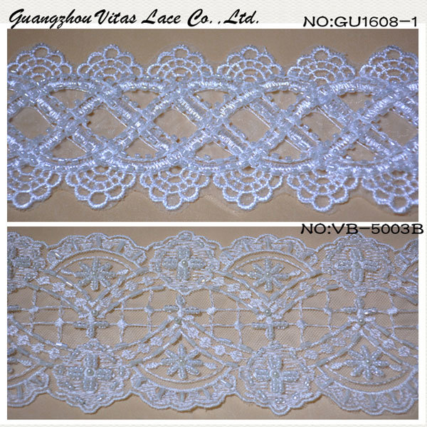 Floral Lace Trimming for Evening Gown Vb5003b and Ug-1608-1