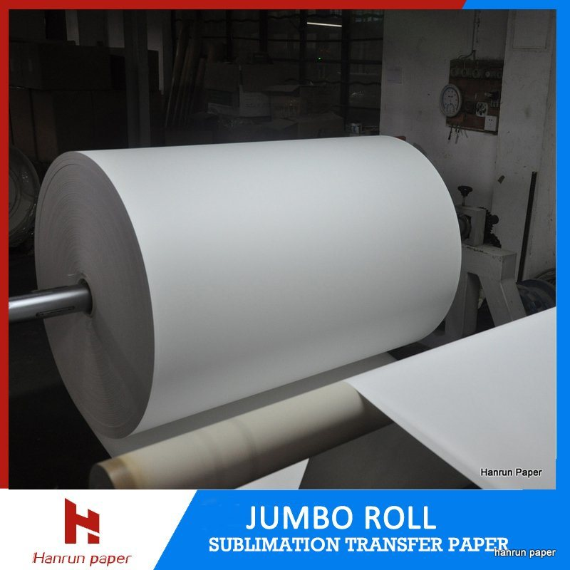 Low Cost 5000m/1000m/500m Mini Jumbo Roll 45/55/60/70GSM Sublimation Transfer Paper for Sublimation Textile