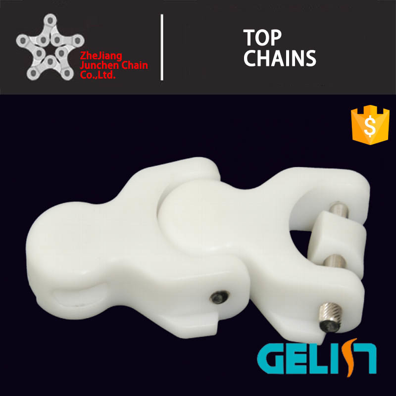 820 Single Hinge Straight Running Stainless Steel Flat Top Chain