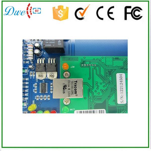 TCP IP Double Door Access Controller Supports 2 Doors 4 Readers