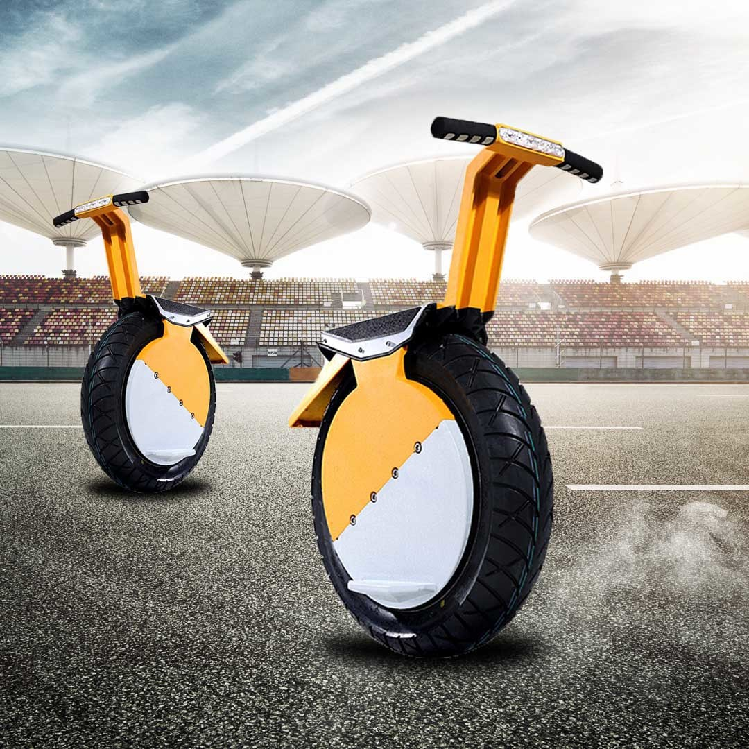 One Wheel Aluminium Alloy Electric Intelligent Smart Balancing Unicycle