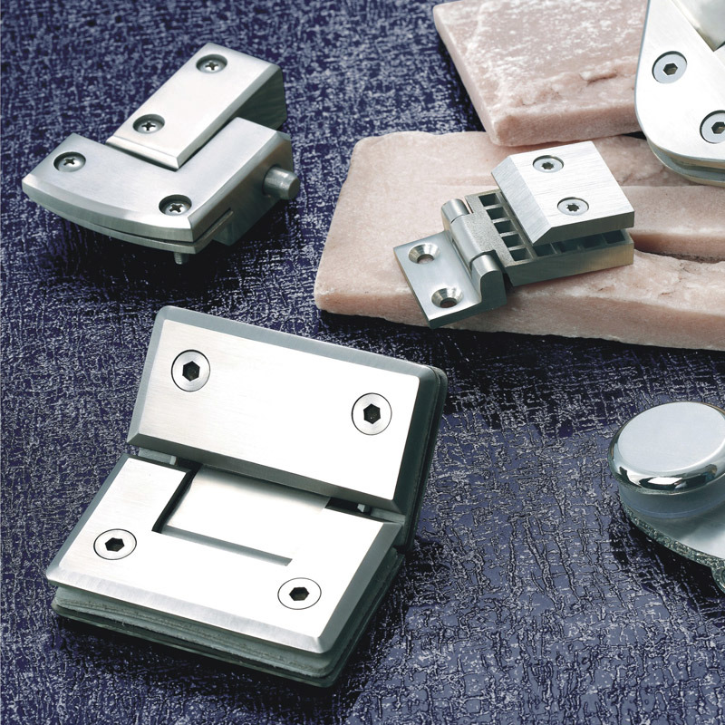 Stainless Steel Bathroom Hardware Clips for Glass (B04-1)