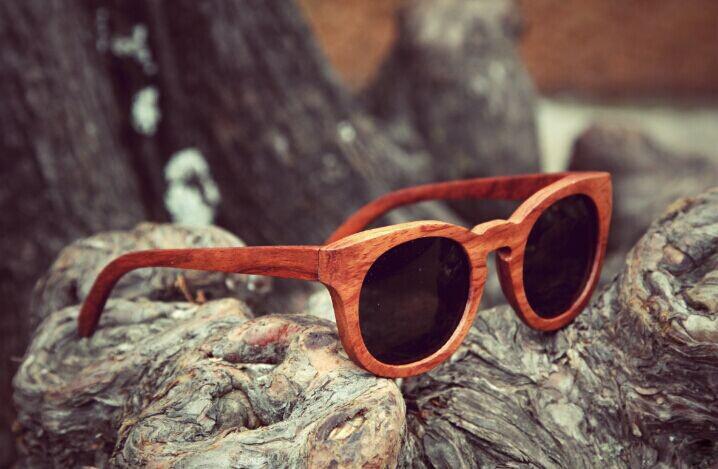 Fx164 Handmade Bamboo Sunglasses Wooden Sunglasses