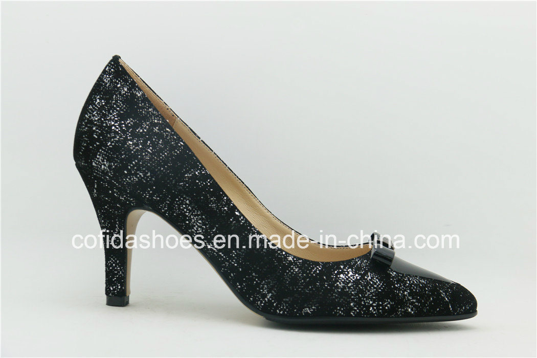 china trendy high heels snake leather shoes