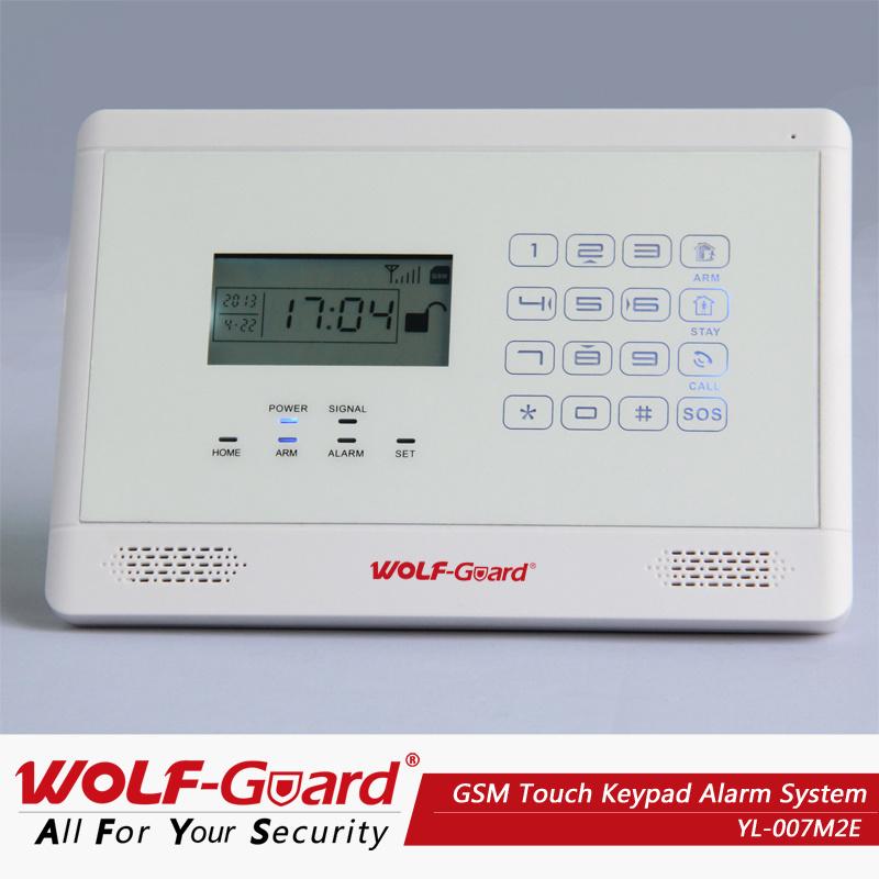 M2e GSM Thouch Keypadhome Brglar Alarm Systems
