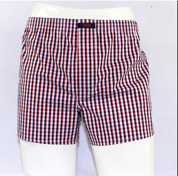 2016 New Design Cotton Woven Loose Men Shorts