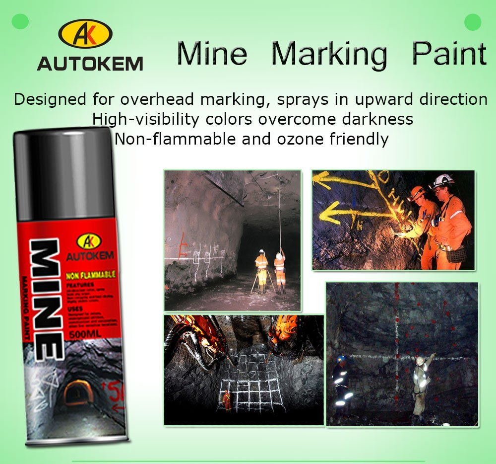 500ml Non-Flammable Mine Marking Paint