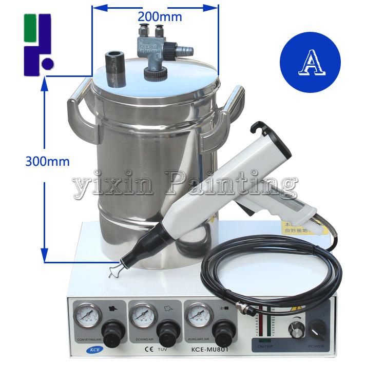 Testing Electrostatic Powder Coating Machine
