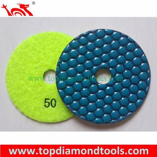 Angle Grinder Polishing Pads with 7 Step Dry Polishing